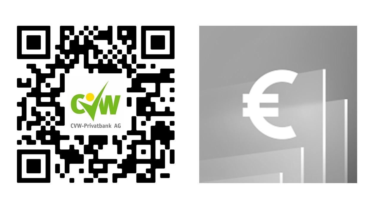 QR-Code für VR-BankingApp